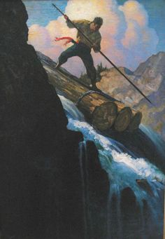Robinson Crusoe Illustrated By NC Wyeth: Nc Wyeth, Howard Pyle, Into The West, Andrew Wyeth, Elements Of Art, Figure Painting, American Artists, Painting Inspiration, Graphic Illustration