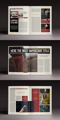 The Marshal Magazine Template - design: editorial, layout + grid - Magazine Layout Design, Book Design Layout, Print Layout, Magazine Layouts, Magazine Articles, Magazine Design Inspiration, Page Layout, Editorial Design, Editorial Layout