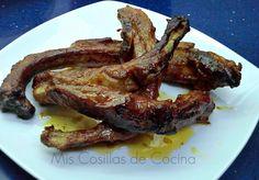 Mis Cosillas de Cocina: Costilla de cerdo al horno con salsa barbacoa