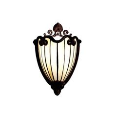 Kichler Lighting 69043 1-Light Clarice Art Glass Wall Sconce, Tannery Bronze with Gold Accent by Kichler, http://www.amazon.com/dp/B0009F0OHU/ref=cm_sw_r_pi_dp_nyYBqb1DVWNRA