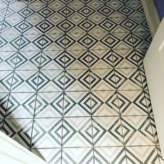 New cement tile design...#LouisvilleHomeBuilder #HomeBuildersLouisville #LouisvilleNewHomes #LouisvilleBuilders #Custom #HomeBuilderLouisville #LouisvilleCustomHomeBuilder #CustomHomeBuilder #CustomBuiltHomesLouisville #MeridianConstruction #NortonCommons #DavidWeis #Homearamabuilder