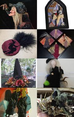 I PUT A SPELL ON YOU (Halloween Artist Bazaar team treasury) by TocsinDesigns.  HAB team treasury. The treasury title inspired by the Screamin' Jay Hawkins song.    Enter the HAB Giveaway & win a special Easter basket! http://www.halloweenartistbazaar.com/easter-hares-and-springtime-scares-give-away/    --Pinned with TreasuryPin.com