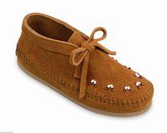 Minnetonka Childrens Beaded Ankle Boot