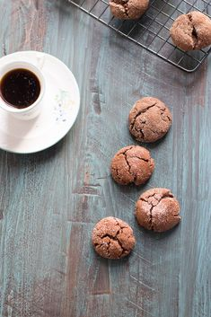 Espresso Snickerdoodles @ Cupcakes and Kale Chips