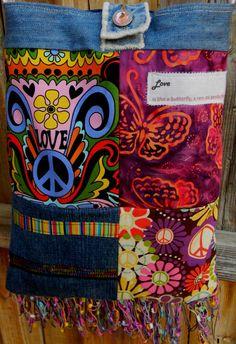 Donation to Mapcap Charity  Groovy Peace Bag by CrossMyHeartBags, $28.00 #madcapcharity