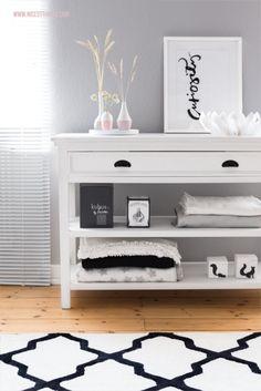 Neuer Wohnzimmerteppich, Sommerdeko von Räder
