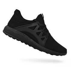 deff8b8e2 QANSI Men s Sneakers Ultra Lightweight Breathable Mesh Street Sport Walking Shoes  Black 10 D(M) US. Fashion weaved work upper for ultra-lightweight help and  ...