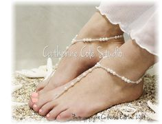 barefoot sandals - barefoot sandals wedding -Barefoot Jewelry / Barefoot SandalsMore Pins Like This At FOSTERGINGER @ Pinterest