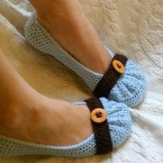 Crochet Pattern for Cute as a Button Ballet por TwoGirlsPatterns