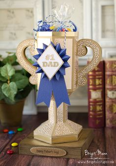 "Brigit's Scraps ""Where Scraps Become Treasures"": Father's Day Trophy - Dreaming Tree's Luck Of The Irish Bundle"