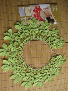 collar+ganchillo+verde.jpg (1200×1600)