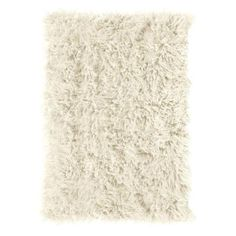 Home Decorators Collection Premium Flokati White 4 ft. x 6 ft. Area Rug-7446430410 - The Home Depot
