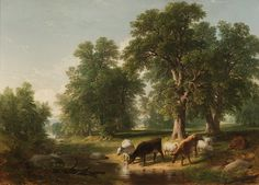 Asher Brown Durand > Summer Afternoon