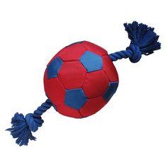 Brinquedo para Cachorro Super Ball com Corda Jambo Pet - MeuAmigoPet.com.br #petshop #cachorro #cão #meuamigopet