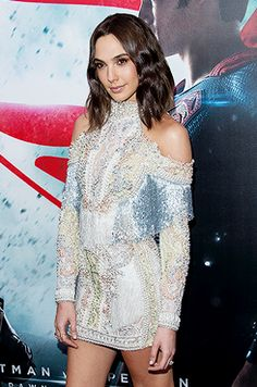 "dcfilms: ""Actress Gal Gadot attends the 'Batman V Superman: Dawn Of Justice' New York premiere at Radio City Music Hall on March 20, 2016 in New York City. """