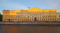 Yusupov Palace, Moika Embankment 94, Saint Petersburg, Russia.  Felix converted a wing of his Moika Palace into a hospital for wounded soldiers, but avoided entering military service himself by taking advantage of a law exempting only-sons from serving. He did enter the Cadet Corps and took an officer's training course, but had no intention of joining a regiment.