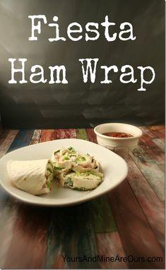 Wraps on Pinterest | Ham Wraps, Wrap Recipes and Veggie Wraps