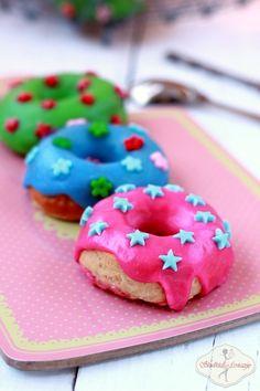 Cynamonowe pączki pieczone / Baked cinnamon donuts recipe