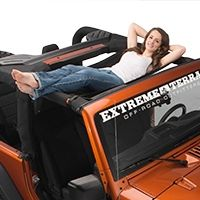 Jeep Wrangler Tj Spiderweb Shade Jammock Black 2 0 Jeep Hammock