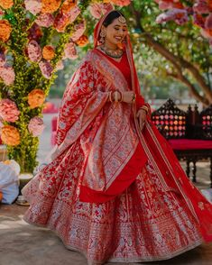Indian Bridal Photos, Indian Bridal Outfits, Indian Bridal Lehenga, Indian Bridal Fashion, Indian Bridal Wear, Wedding Dresses For Girls, Green Wedding Dresses, Bridal Lehenga Collection, Indian Gowns Dresses