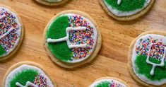 Between the cookies and the cake, we can't choose a favorite! Football Treats, Football Food, Football Parties, Football Recipes, Football Cookies, Alabama Football, American Football, College Football, Tailgate Food