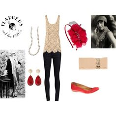 Modern Flapper, created by nicseb23 on Polyvore
