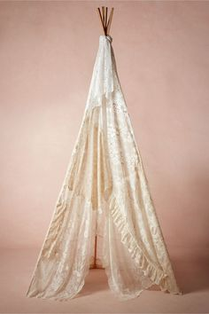 Vintage Lace Teepee from BHLDN