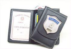 Polizia di Stato - Portafoglio con distintivo 1WD102