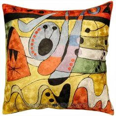 Silk Modern Pillows Archives - Kashmir Fine Arts & CraftsKashmir Fine Arts & Crafts