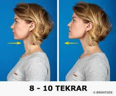 7 Most Effective Exercises to Get Rid of a Double Chin I'm going to try them right now. Exercises to get rid of an underchin!I'm going to try them right now. Exercises to get rid of an underchin! Yoga Facial, Facial Muscles, Fitness Workouts, Exercise Workouts, Double Chin Exercises, Face Exercises, Jowl Exercises, Jawline, Eat Right