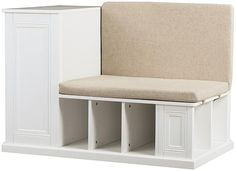 Adorable kids storage bench.  Perfect reading bench with lots of storage.