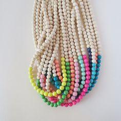 Image of Tømmer Lengte Wood Necklace