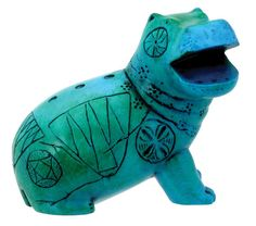 Egyptian Hippo - Collectible Figurine Statue Sculpture Figure Model >>> See this awesome image  : Home Decor Sculptures