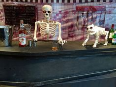 A Very Spooky Halloween pop-up bar...