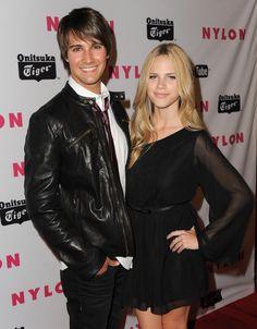 Halston salvie dating James Maslow 2012