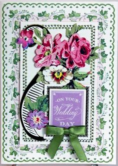 http://www.ebay.com/itm/ON-YOUR-WEDDING-DAY-PINK-GOLD-FLORAL-HANDMADE-GREETING-CARD-ANNA-GRIFFIN-STYLE-/111672793772?pt=LH_DefaultDomain_0&hash=item1a00379aac