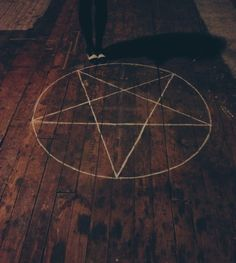 was a pentagramm on the floor. Like the ones I only knew from trashy TV shows. An actual five-jagged star in a circle. I fought the unexplicable urge to giggle. Satan, Fantasy Magic, Jace Lightwood, Maleficarum, Yennefer Of Vengerberg, Tv Supernatural, Witch Craft, Season Of The Witch, Howls Moving Castle