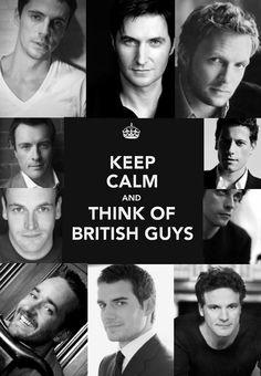 Ah. British men.