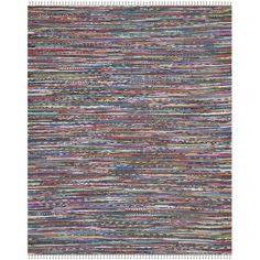 Safavieh Rag Striped Contemporary Area Rug