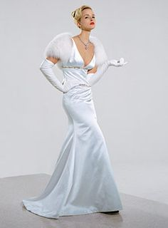 1000 images about old hollywood glam mock wedding on for Old hollywood wedding dress