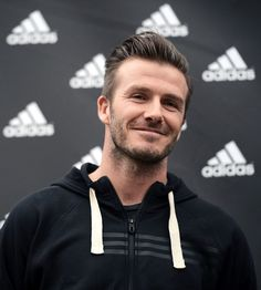 David Beckham. obsessed with this hair style on guys.
