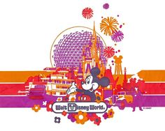 Shopping Bag retro Walt Disney World