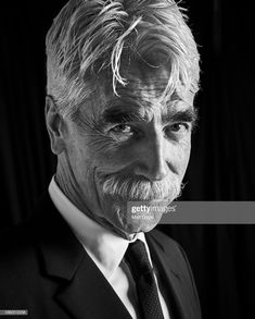 News Photo : Actor Sam Elliott poses for a portrait at The. Moustache, Mustache Men, Sam Elliott The Ranch, Famous Men, Famous People, The Ranch Tv Show, Actor Sam Elliott, New York Street, 42nd Street