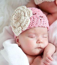 Sombrero de la muchacha del bebé / recién nacido chica