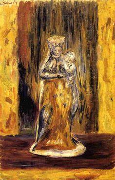 Earthenware Virgin and Child Pierre Auguste Renoir - Date unknown