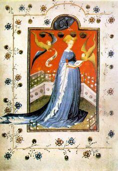 La Pellanda era il soprabito più comune nell'Europa latina del XIV secolo. Originaria della Francia (Houppelande), era ampia e lunga fino al ginocchio, o anche fino ai piedi, con maniche larghe, a volte affrappate, foderata di pellicce selvatiche o domestiche. Veniva confezionata con panno di lana, velluto o seta.