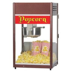 Gold Medal 2086 P-60 2086 Kettle Popcorn Popper 6 oz w/Cart  #Gold_Medal #Kitchen