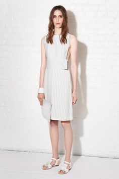 Apron style Dress by Thakoon | Resort 2014 Collection | Style.com