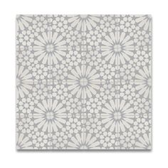 Agdal Grey and White Handmade Moroccan 8 x 8 inch Cement and Granite Floor or Wa. Agdal Grey and W Grey Tiles, White Tiles, Granite Flooring, Kitchen Flooring, Encaustic Tile, Wall Tiles, Cement Tiles, Cement Tile Backsplash, Backsplash Ideas