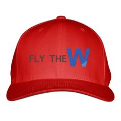 Fly The W - Cubs Playoff Embroidered Baseball Cap